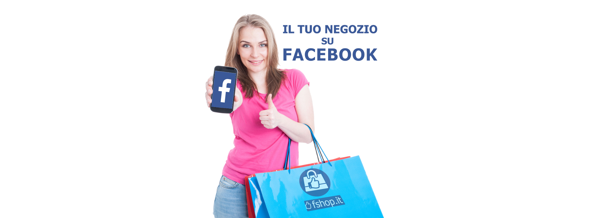 negozio su facebook shop